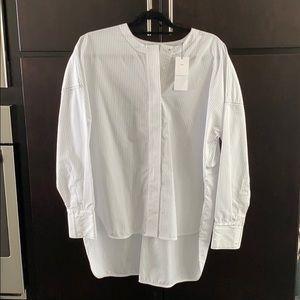 Sandro Blouse Shirt NWT Good for M L